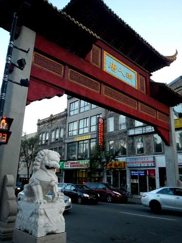 Canada Montréal Claironyva Chinatown