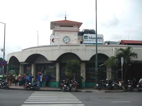 Claironyva Vietnam Ho Chi Minh Saigon marché couvert