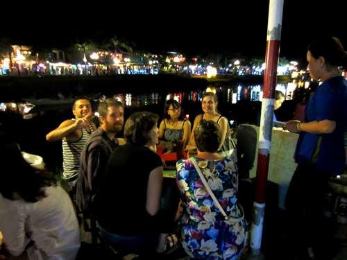 Repas à la Vietnamienne à Hoi An