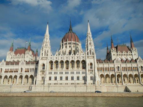 Budapest Le Parlement