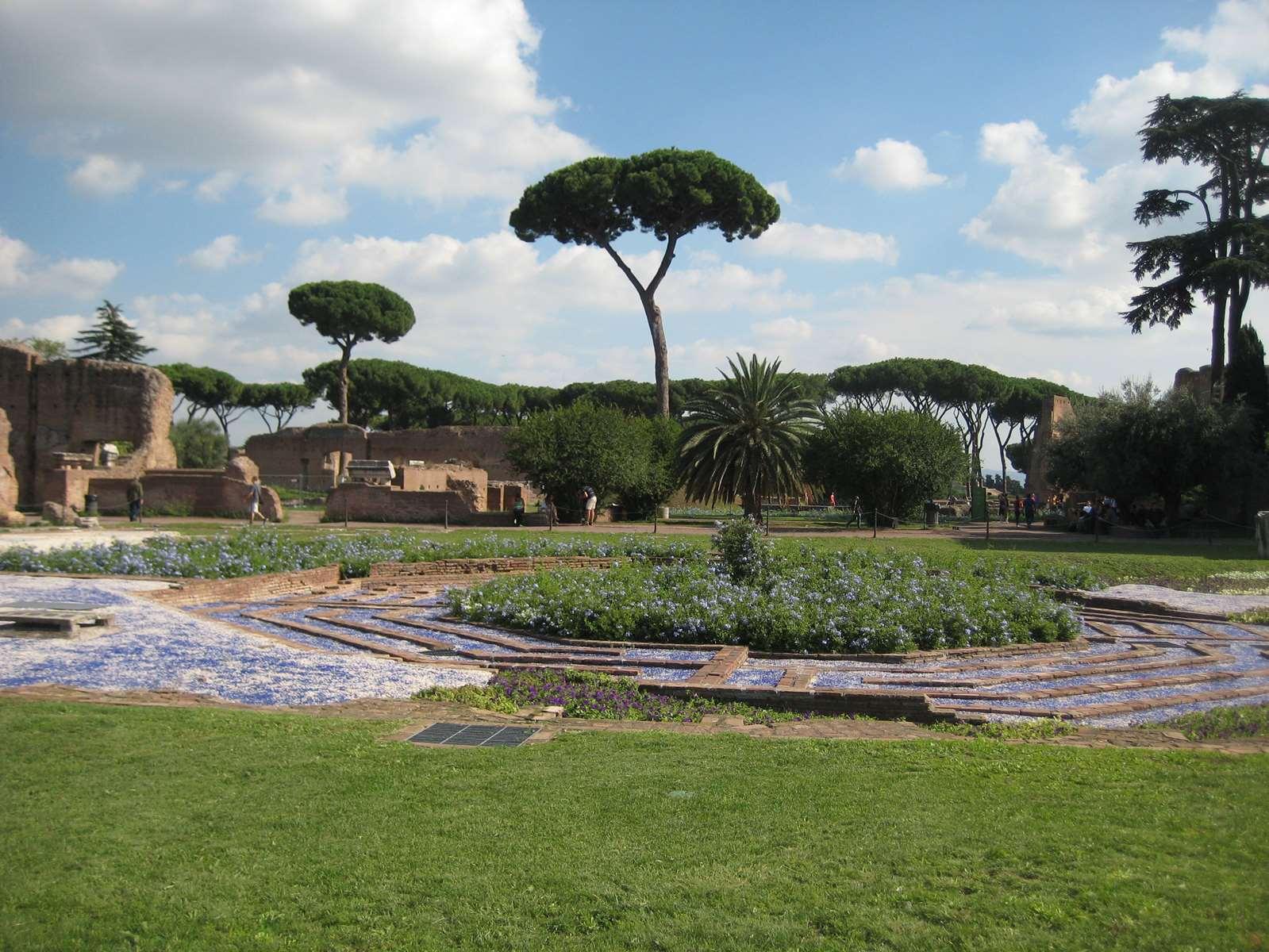 Italie-Rome Forum Palatin Claironyva