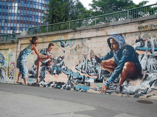 Vienne Claironyva Street Art