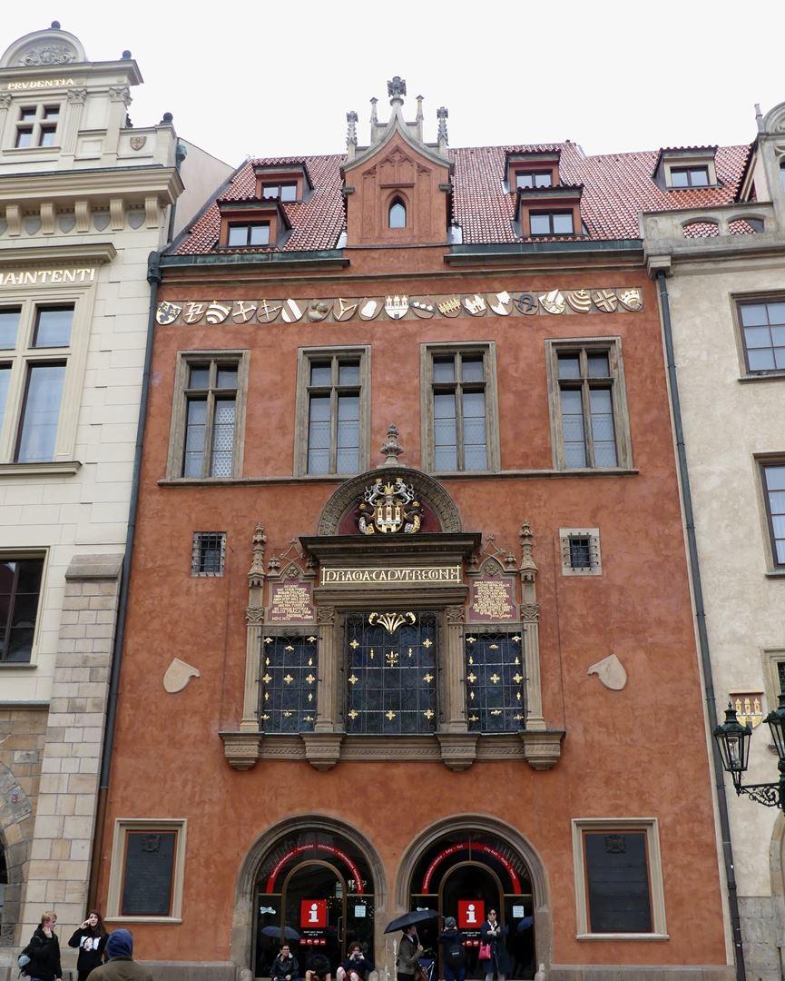 Prague Office du Tourisme Vieille Ville Claironyva