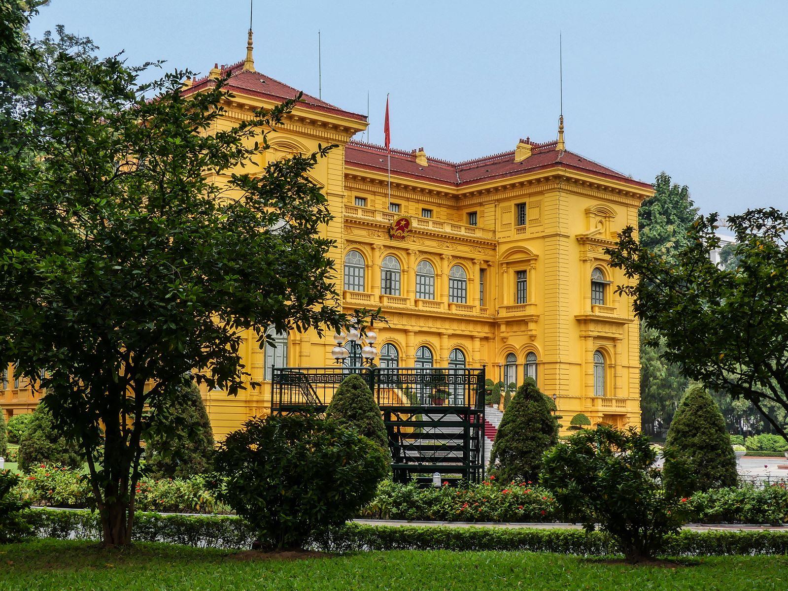 Claironyva Vietnam Hanoi Palais du Président