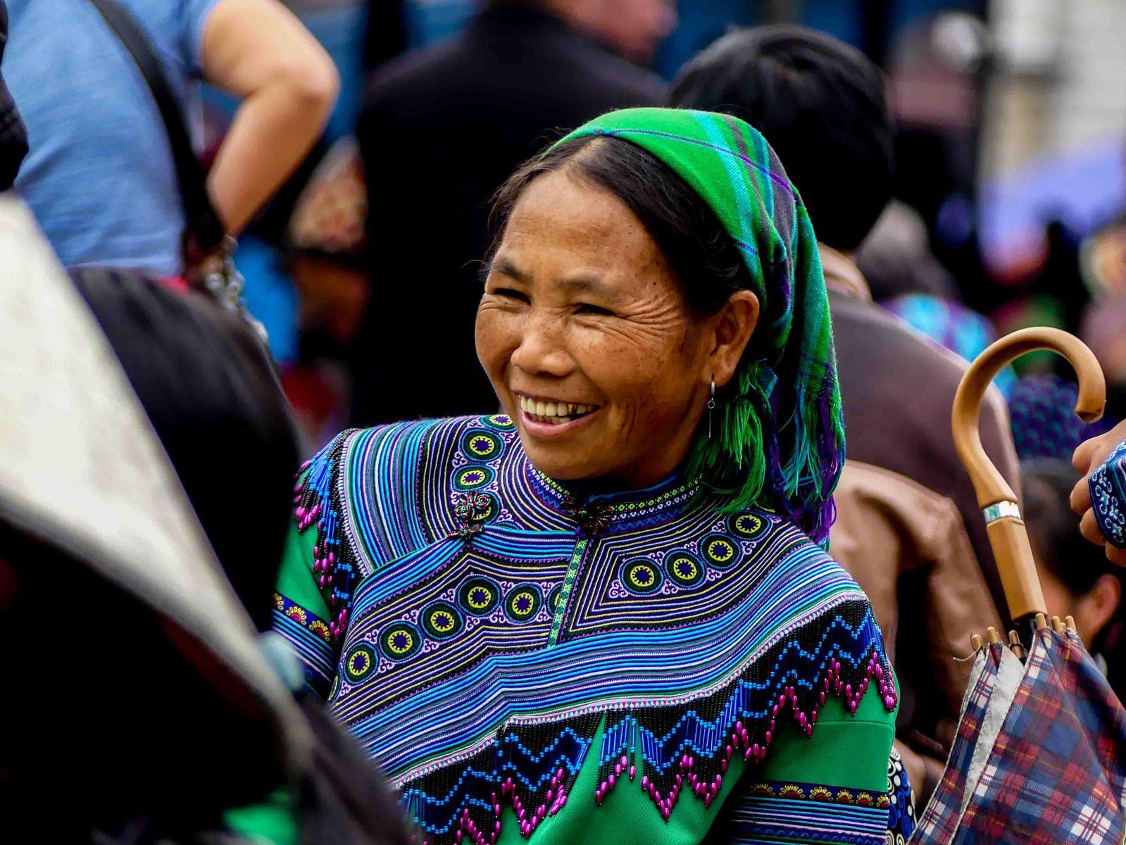 Claironyva Vietnam Sapa marché Bac Ha