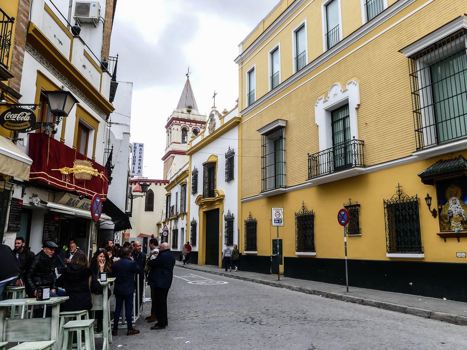 Claironyva Séville quartier de la Macarena