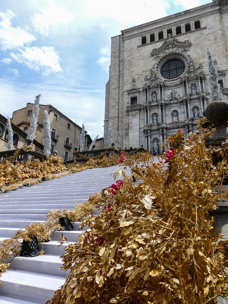 gerone claironyva week end- Temps de Flors cathedrale