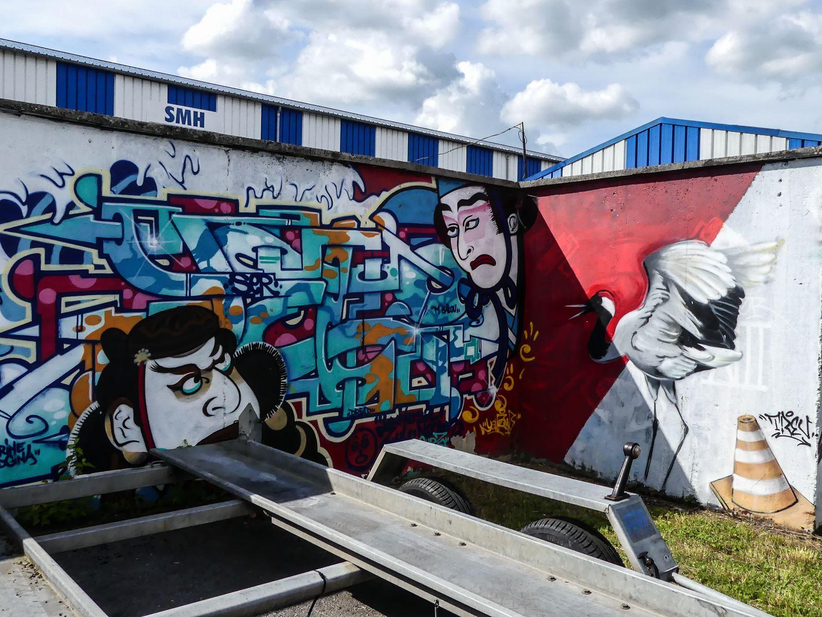 Claironyva France Reims street art