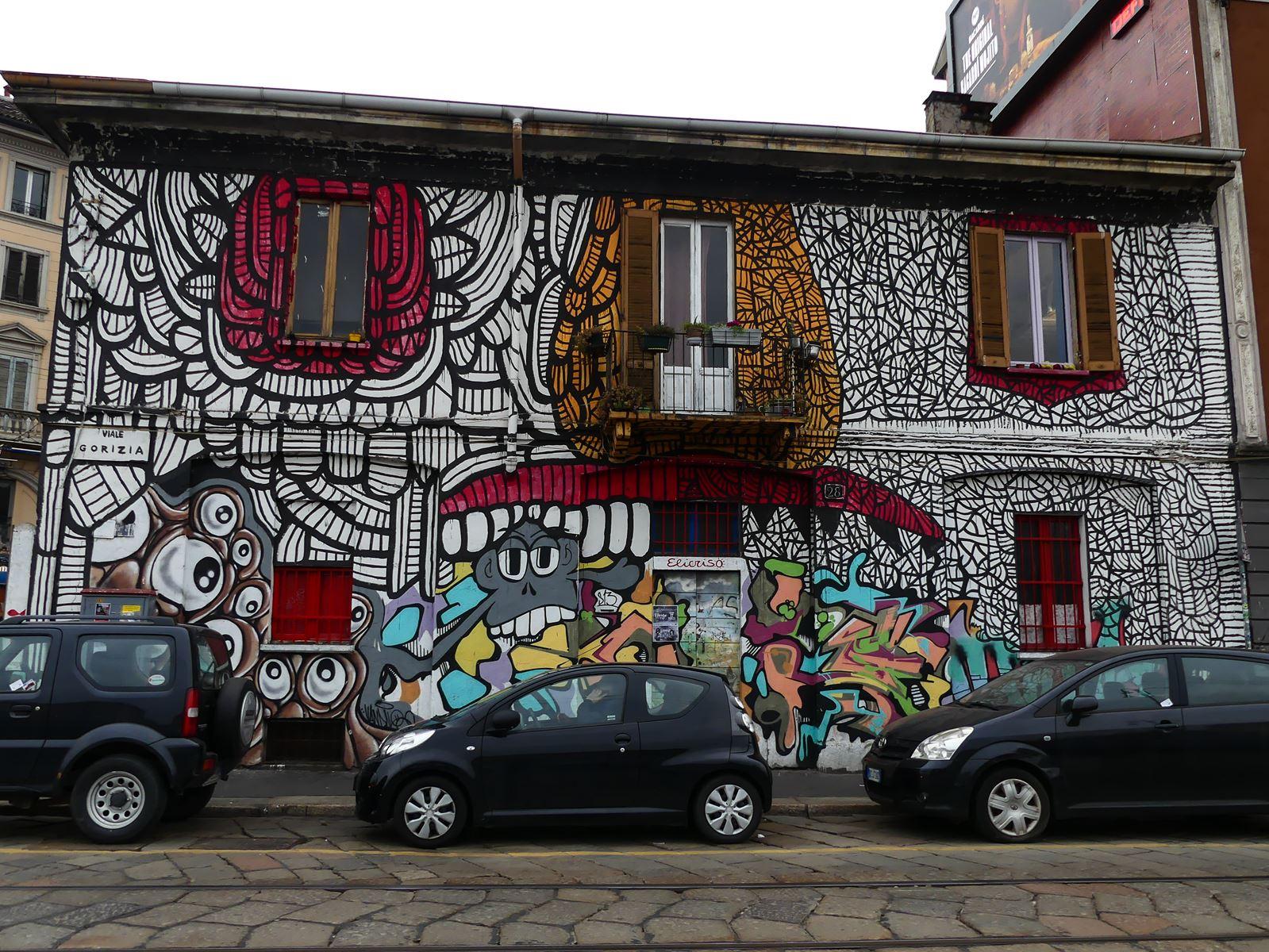 claironyva italie milan quartier navigli street art