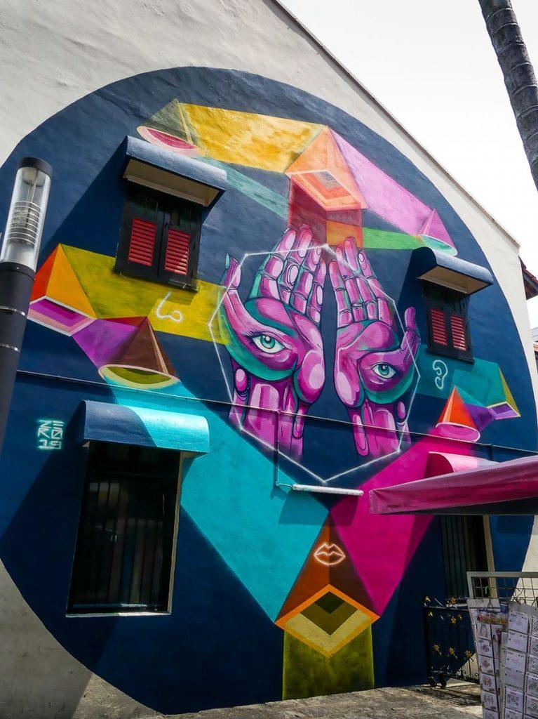 Street art Little India