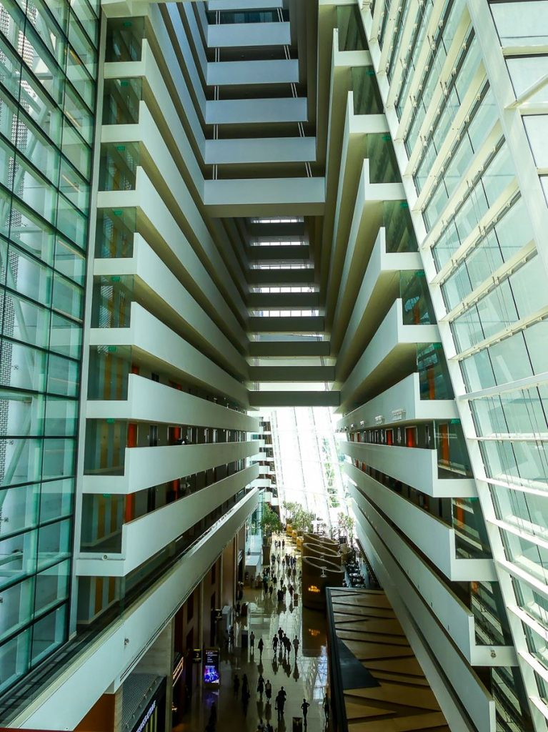 Hall du Marina Bay Sands
