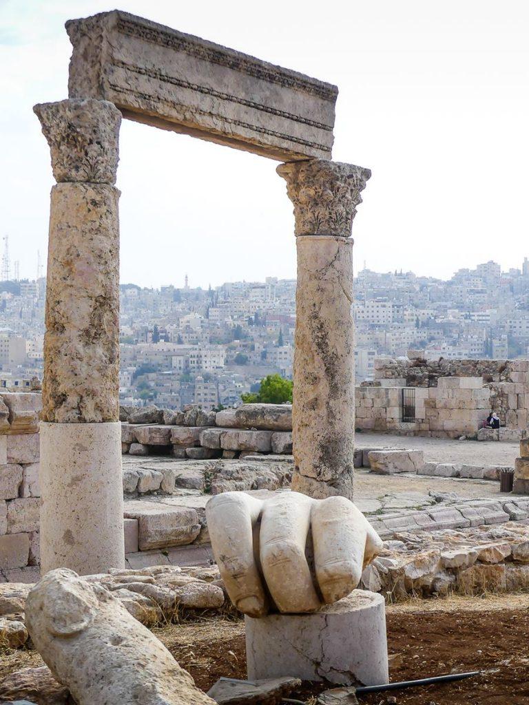 Citadelle d'Amman - Jordanie