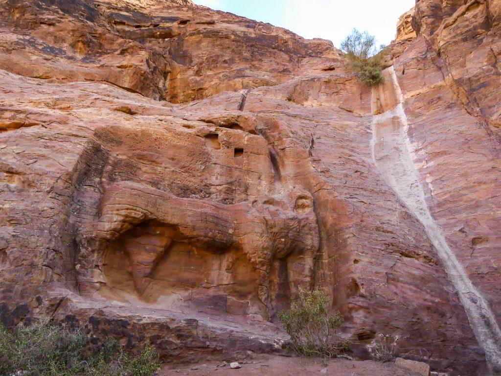 Petra - Fontaine du Lion