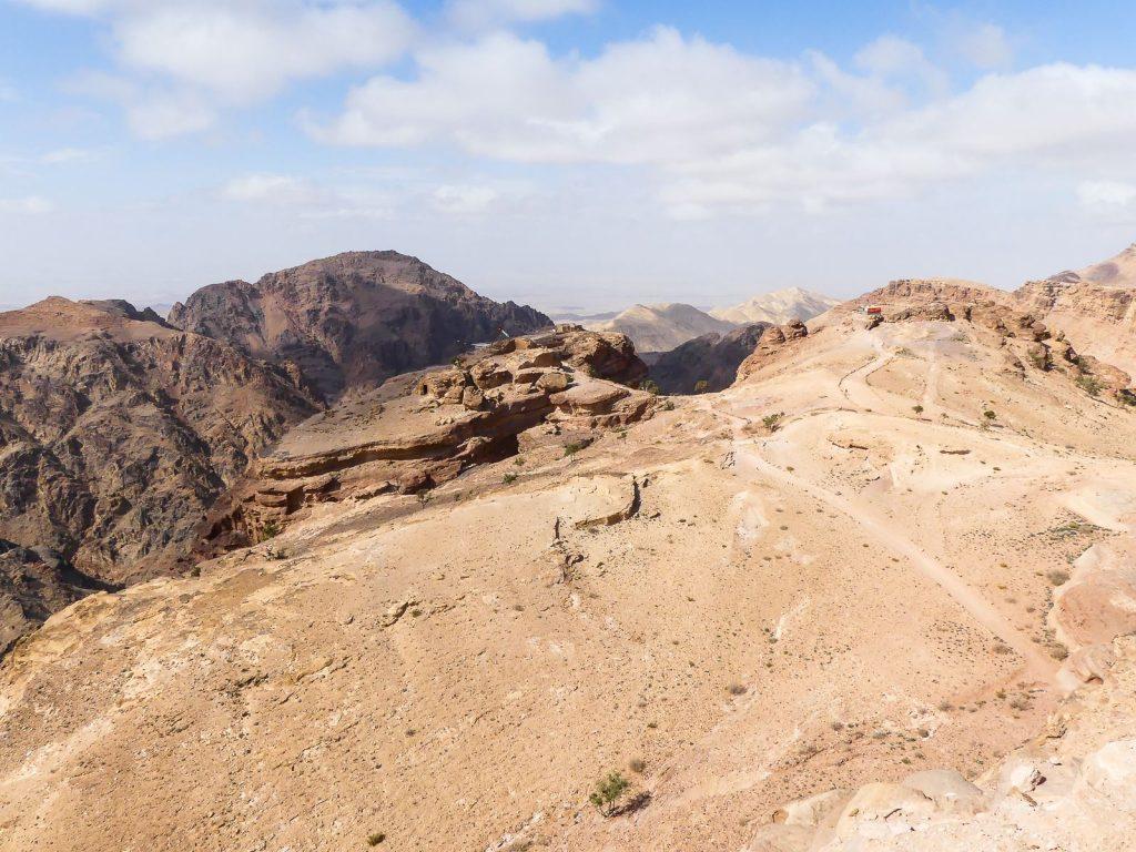 Petra - en face du Monastère