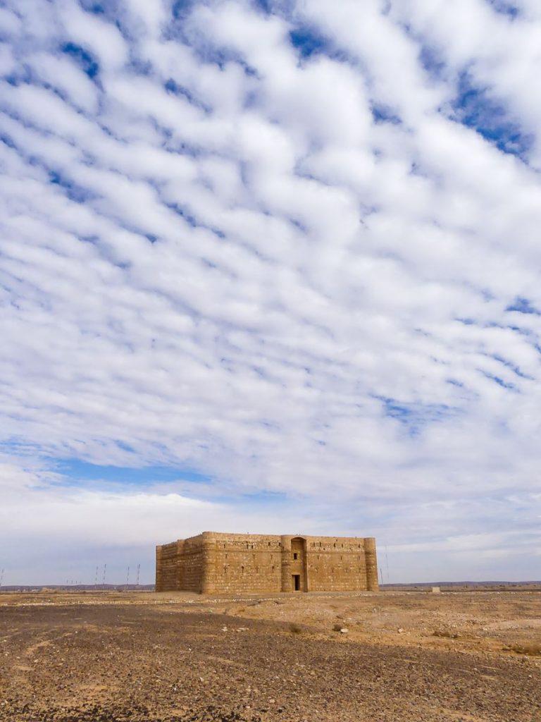 Jordanie, Château du désert Amra