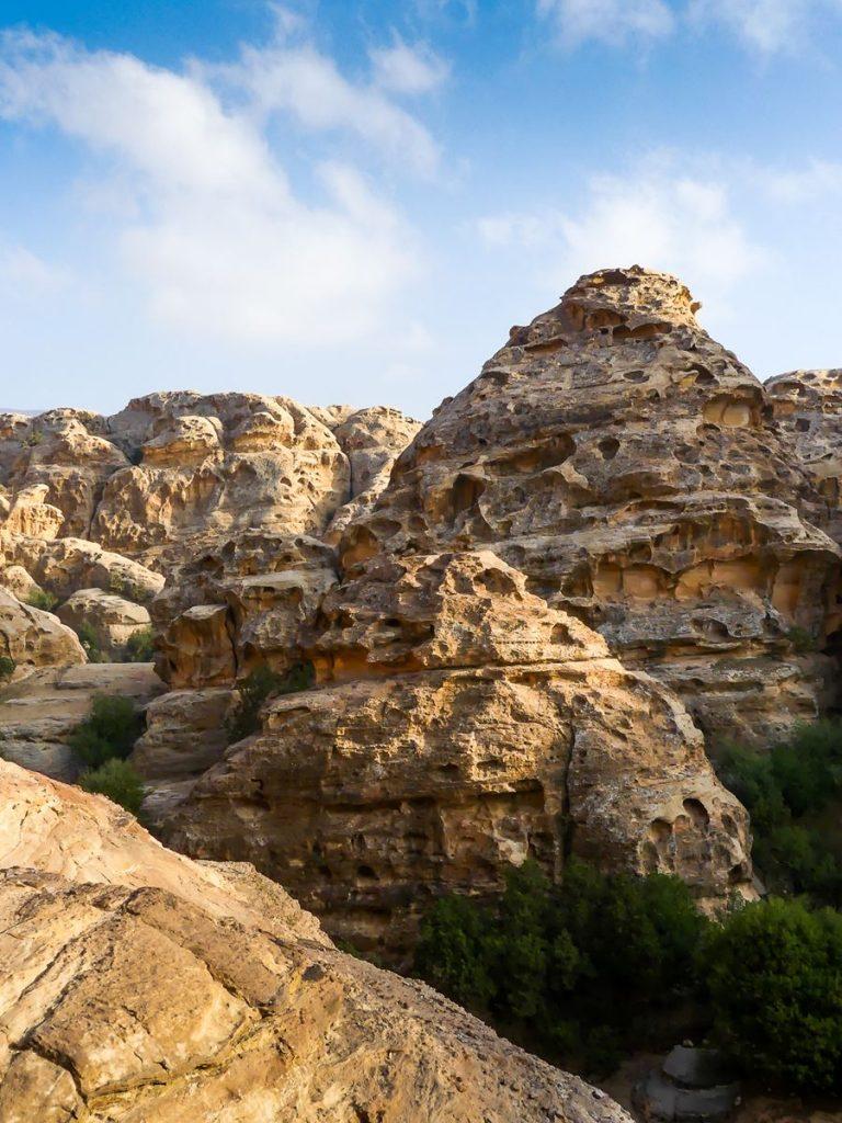 Vue depuis Little Petra