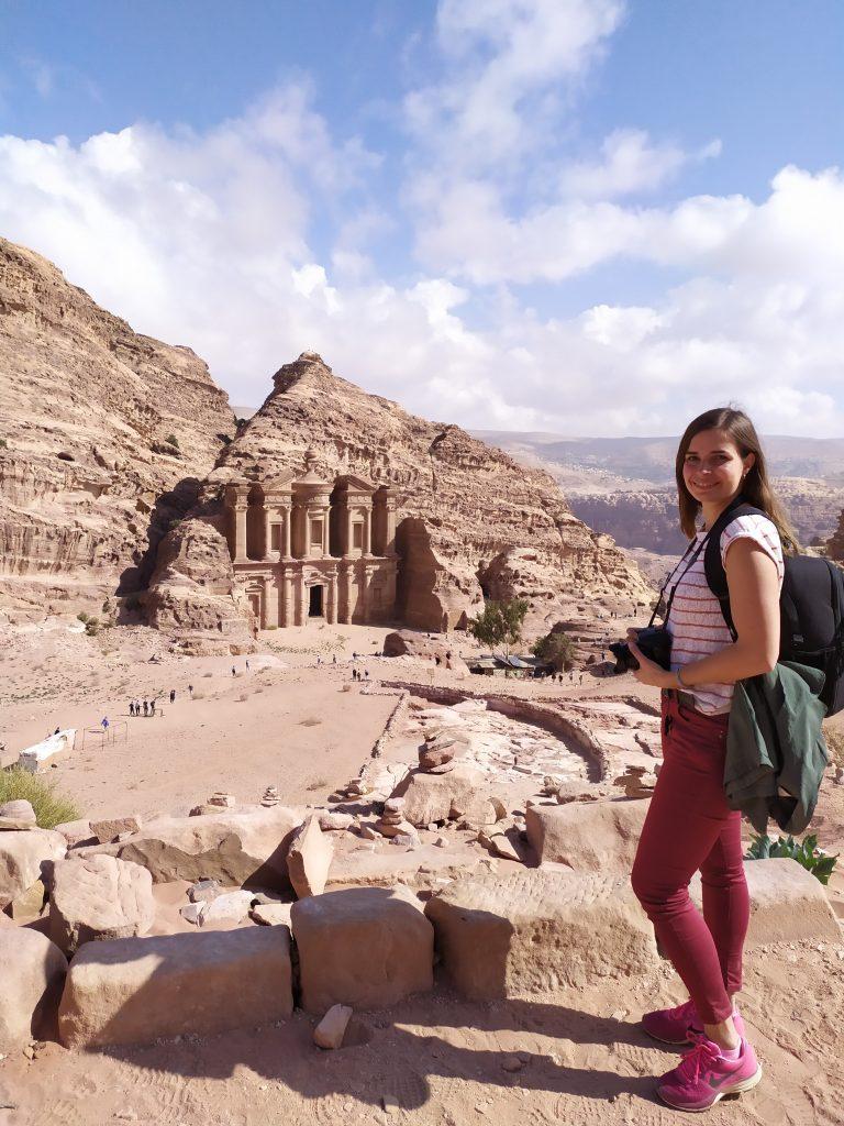 Petra - vue sur le Monastère al Deir