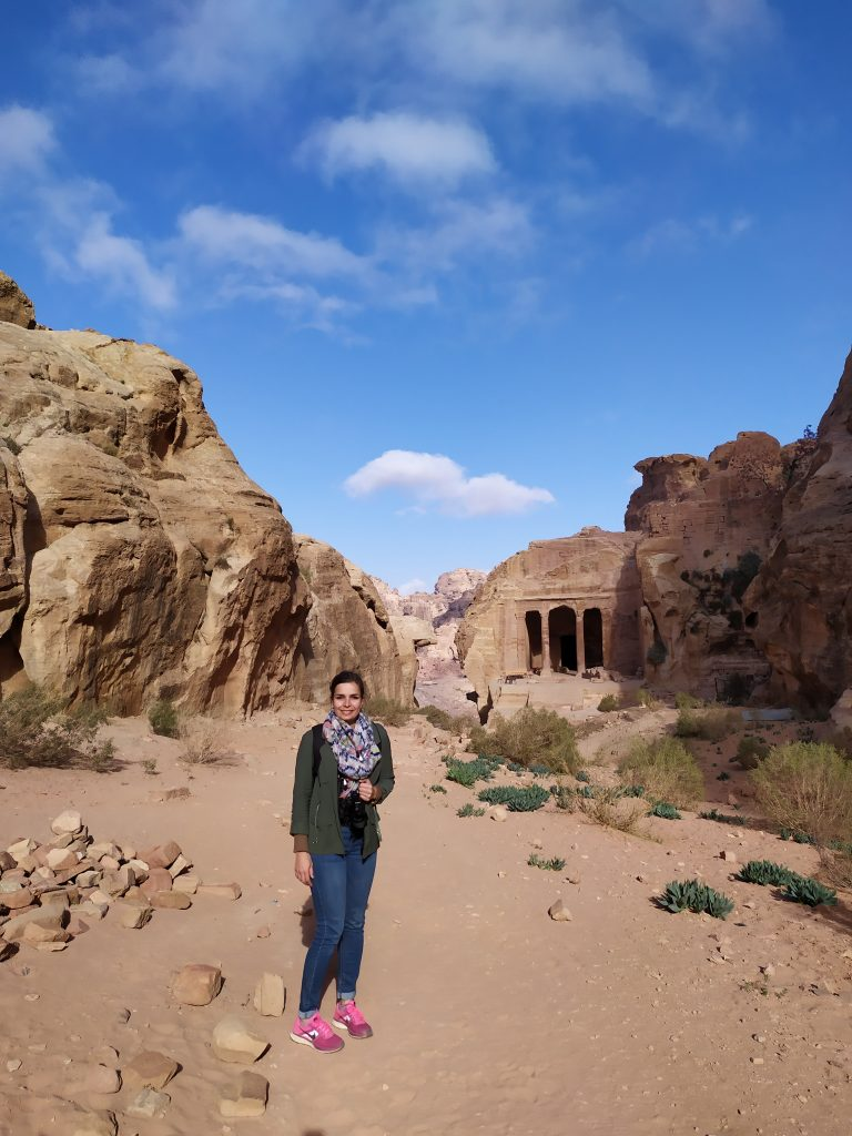 Petra - Ici se tenait un jardin luxuriant