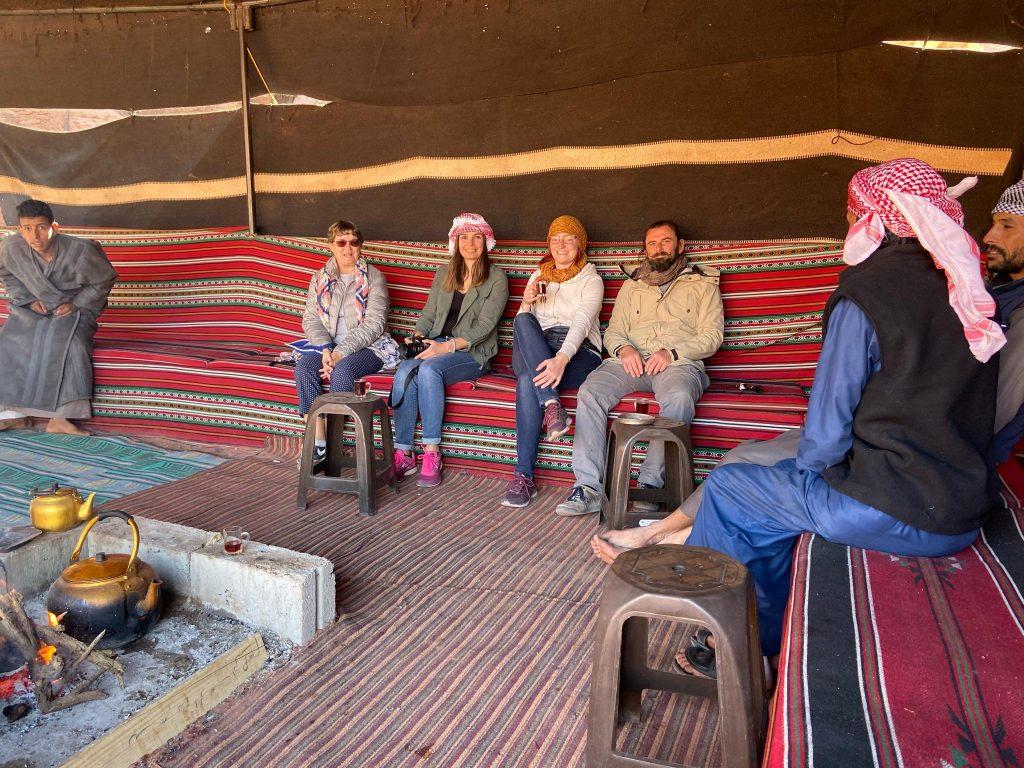 Wadi Rum - Arrêt 4 - pause thé