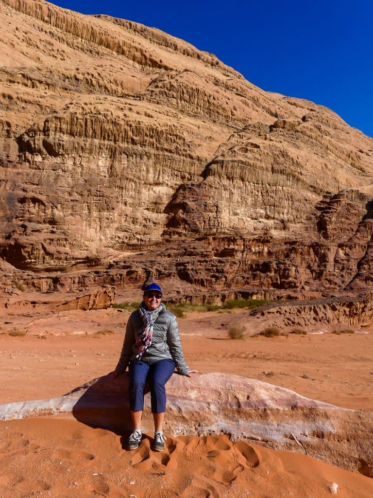 Wadi Rum : pause au soleil !