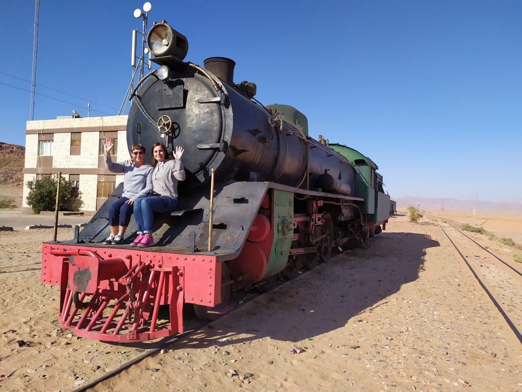 Wadi Rum locomotive à vapeur