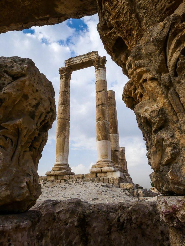 Jordanie - Amman - temple d'Hercule