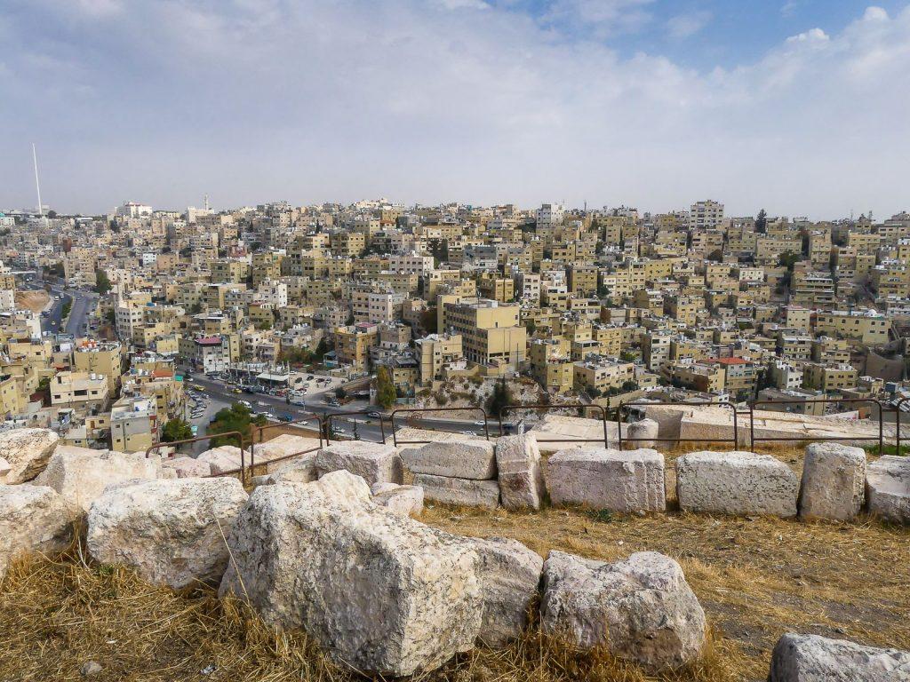 Jordanie - Amman - vue de la citadelle