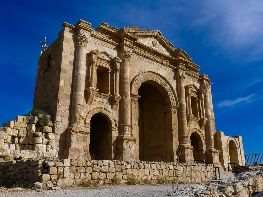 Jordanie - Jerash Porte